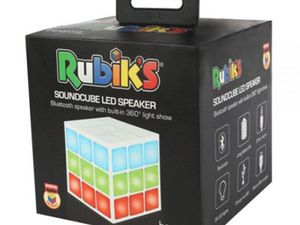 Test - Enceinte Rubiks Cube Danse LED 360 Lightshow Bluetooth