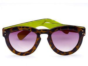Les lunettes de soleil aux motifs sauvages
