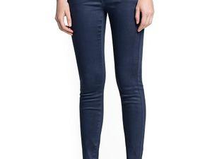 Le cas du jean enduit