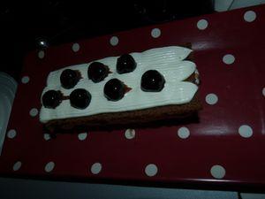 Mon gâteau Ker Cadelac façon forêt noire