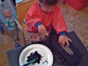La peinture des boites