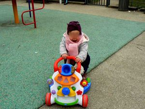 Mercredi parc... avant la pluie !