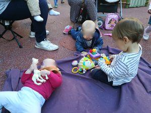 Au parc, avec les copains !!!