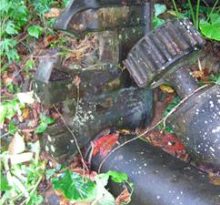 vestiges de muolins à cannes à Mayotte