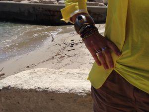 Sushis à #Carry Beach