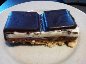 Croustifondant au chocolat au companion