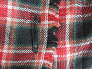 Jupe Benetton plissée portefeuille façon kilt