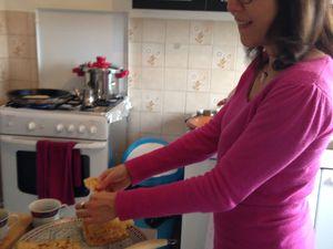 Derniers jours des ateliers des mamans en résidence à Valence.