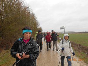 Marche nordique du 05 mars : sauve qui pleut !