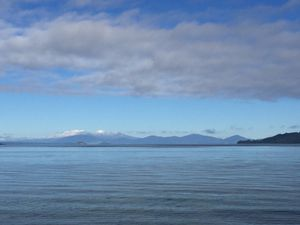 Taupo Lake in the morning