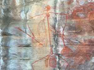 Les dessins aborigènes d'UBIRR