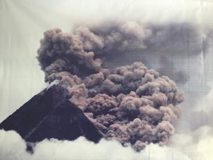 Photos de l'explosion du Merapi en 2010
