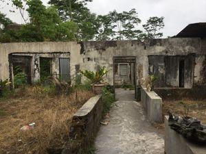 Village détruit par l'éruption du Merapi en 2010