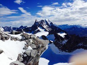 Alpinisme à la tour Ronde http://www.geromegualaguidechamonix.com