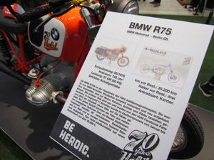 R75/6 ANNIVERSARY BIKE HELD