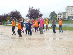 Le FLASH MOB en photos...
