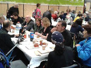 Participation à l'ECO TRAIL de PARIS en MARCHE NORDIQUE