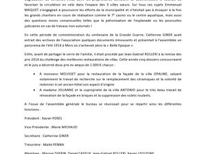 Compte-rendu AG 02 août 2014