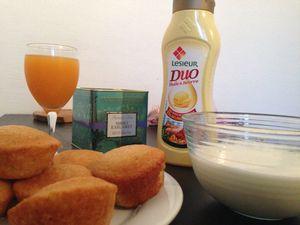 Quatre-quarts à la vanille et Duo Huile & Beurre Lesieur