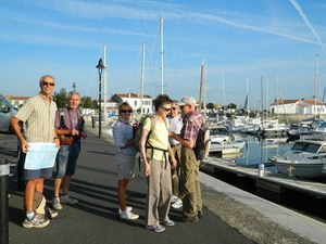 Port d'Ars en Ré - Au départ de la journée !