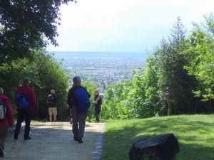 Parc Schlumberger, vue sur le centre ville de Cormeilles