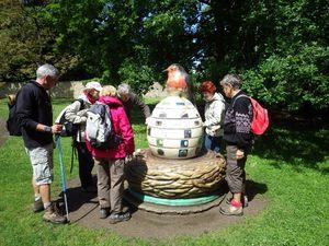 Piquenique dans le Parc Schlumberger de Cormeilles , les grands s'amusent aussi !