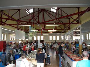 La place du Commerce - Les halles (1er étage)