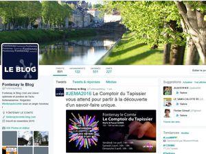 Fontenay le Blog : plus d'infos sur les réseaux sociaux