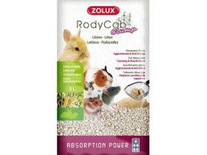 Litière végétale agglomérante pour rongeurs, cochons d'inde, lapin, chinchilla