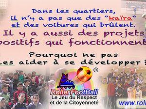 Pendant les vacances le RollerFootBall continue à Besançon