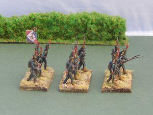 Les marins de la Garde Impériale