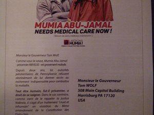 34 ans après, toujours solidaires avec Mumia Abu-Jamal