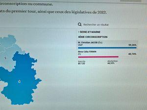 ELECTIONS LEGISLATIVES 2017 - 4ème circonscription de Seine-et-Marne