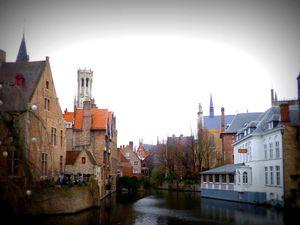 Randonnée à la découverte de Bruges et son décor de fête (Décembre 2015)