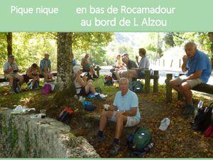 Cinquième jour : balade et visite de Rocamadour