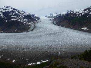 Salmon Glacier et Rivière