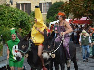 La course -----------------------------et une arrivée museau à museau !