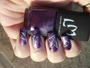 Nail Art Abstrait LM COSMETIC 240 Paars