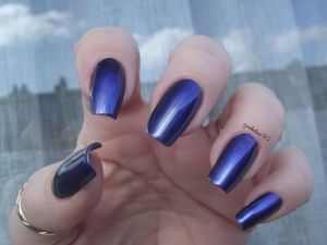 Swatch MAVALA metallic Blue