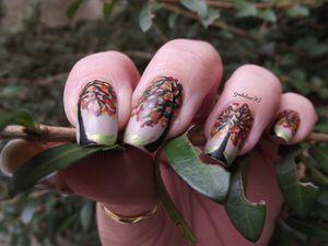 Nail Art fin printemps
