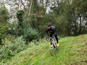 The cyclo-cross training day
