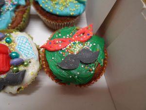Les Cupcakes de mon fils Guillaume ( bientôt 9 ans)