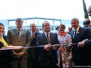 Inauguration de la nouvelle Halle Bio du MIN de Rungis