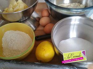Cake au Citron, Amandes et Noisettes