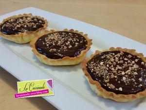 Tartelette Chocolat Noisette