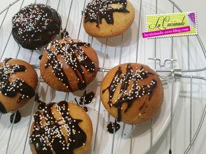 Mini Cake au Citron et Chocolat