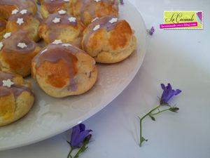 Choux à la Crème Saveur Violette