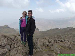 Ascension au mont Bawhit à 4445m le troisième jour pour Liou et Papa