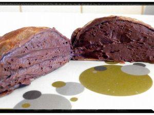 la tortue crêpe à la mousse au chocolat onctueuse