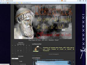 Sur l'ancienne plate-forme Overblog, 2007-2012, PC de bureau